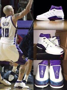 344356c1a74 Air Jordan 17 PE MIKE BIBBY Sacramento Kings Player Exclusive Size ...