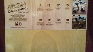 JURASSIC-5-QUALITY-CONTROL-WOODEN-4LP-BOX-SET-LTD-ED-RSD-2015-NEW-SEALED
