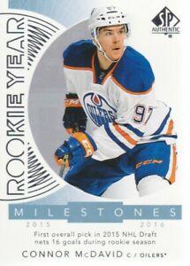 2017-18-SP-Authentic-Rookie-Year-Milestones-RYM-CM-Connor-McDavid-Oilers