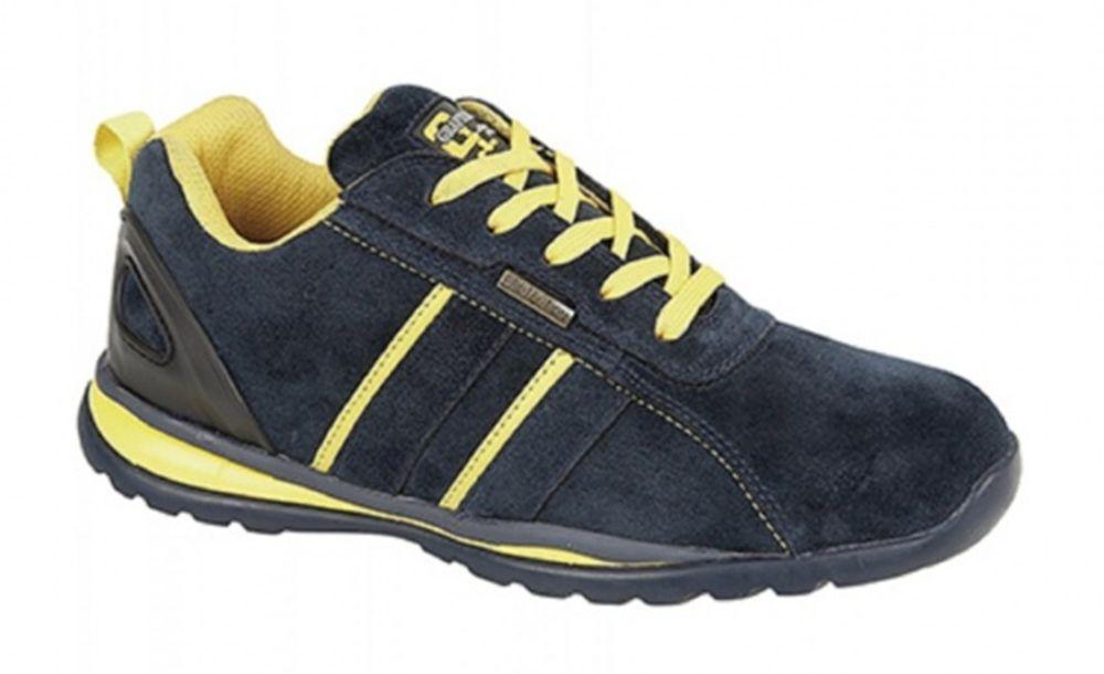 Scarpe casual da uomo uomos Safety Lightweight Trainer Work Shoe Steel Toecap Northwest Grafters 7-12