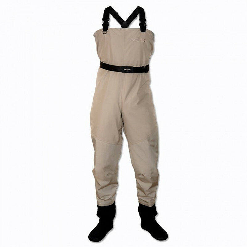Sonik SK3 Breathable Chest Waders Fishing - Size XL