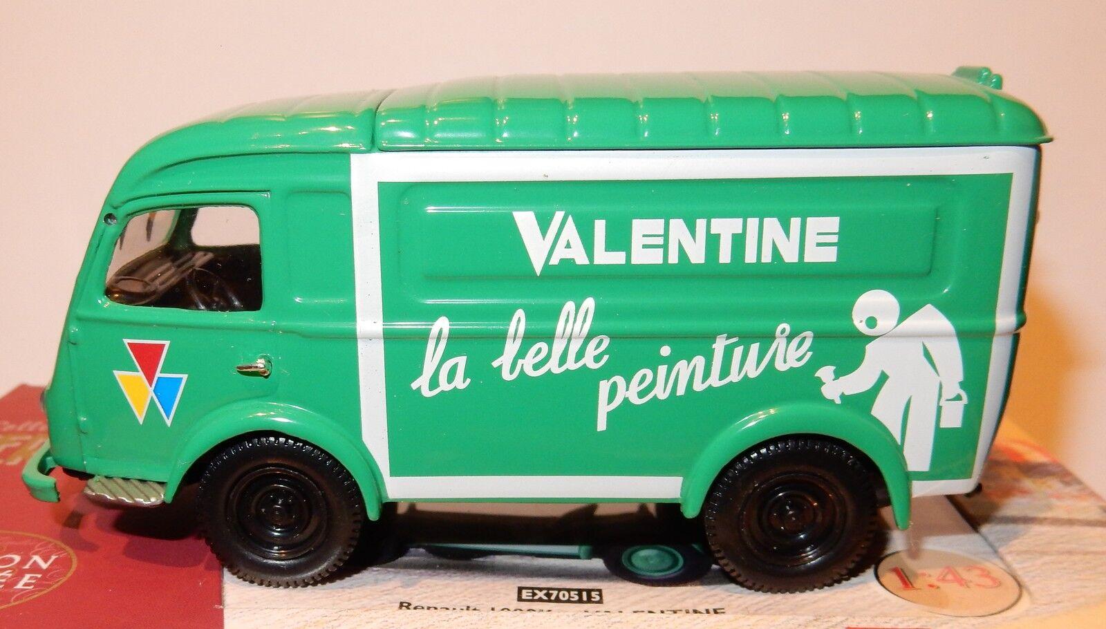 CORGI HERITAGE RENAULT 1000 KG VALENTINE VALENTINE VALENTINE LA BELLE PEINTURE 1 43 IN BOX c61e31