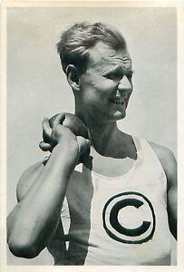 """128. Gerhard Stöck Javelin throw Athletics Germany OLYMPIC GAMES 1936 CARD - France - État : Occasion : Objet ayant été utilisé. Consulter la description du vendeur pour avoir plus de détails sur les éventuelles imperfections. Commentaires du vendeur : """"FORMAT: 12 CM X 8 CM / SIZE: 4.72"""" x 3.14"""" INCH"""" - France"""