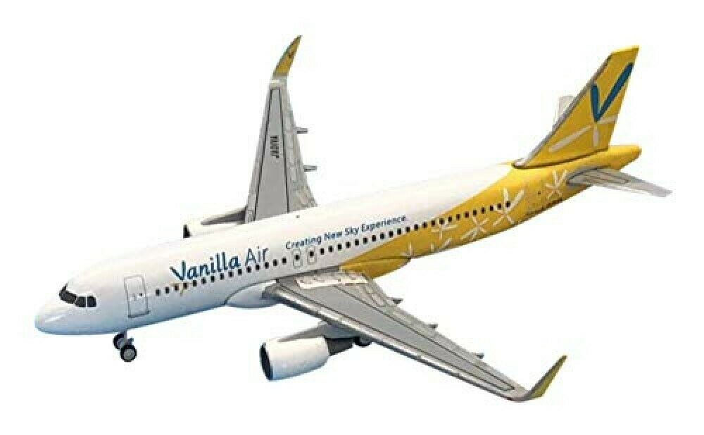 Everrise 1 500 A320-200 Vanille Luft Flugzeug Nummer JA01VA JW50001 Fertig F S