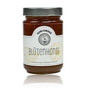 Honigmayr-FIORI-miele-100-puramente-in-500-G-Vetro-Natura-Miele-presen-fruttato