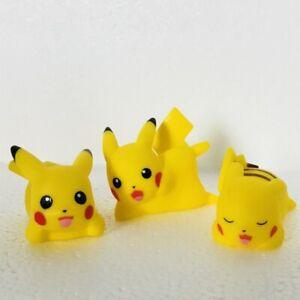 3-Different-Lying-Pikachu-Figures-Pokemon-Nintendo-Bandai-3-Toy-Bundle-f