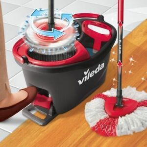 Vileda Easy Wring Clean Turbo Spin Mop Bucket Cleaning System