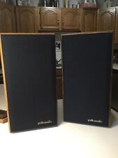 Polk 4.5 Monitor Series Vintage Speakers. Light Wood - Spotless Condition.
