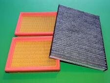 Innenraumfilter, Aktivkohle Pollenfilter + Luftfilter VW Polo (6N2) 1.0 & 1.4