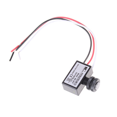 AC80~277V Photocell Dusk to Dawn Button Photo Control Eye Switch Controller  X