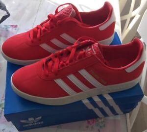 Adidas Trimm Trab Gr 46 UK 11 Wie Stockholm London Bern Liverpool ... 9b3f9142eb7f