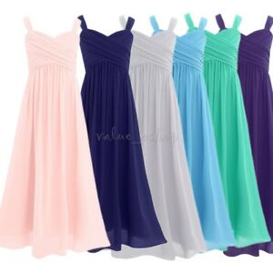 Flower-Girl-Dress-Birthday-Pageant-Wedding-Party-Formal-Princess-Kids-Dress-4-14