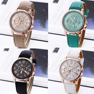 Reloj-Relojes-De-Pulsera-Cuero-Correa-Analog-Cuarzo-Watch-de-Mujer-Chicas-Dama