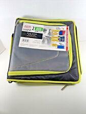 New 3 Ring Zipper Binder School Organizer 2 530 Sheet Capacity Five Star Yellow