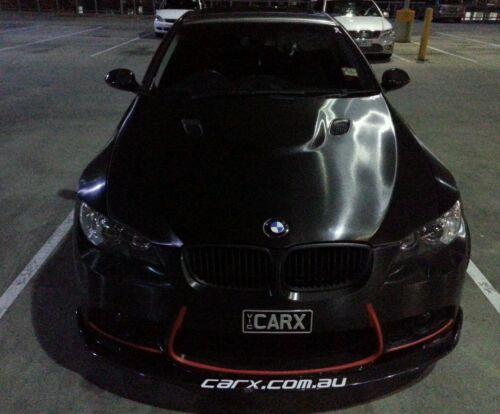 Genuine 3M 1080-BR212 BRUSHED STEEL BLACK METALLIC VINYL CAR WRAP 1520mmx500mm