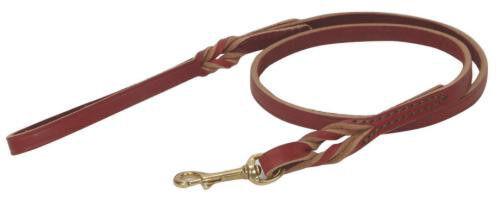 Twisted Latigo Lead for dogs - - - all Größes Quality latigo leather dog leads 04eb68