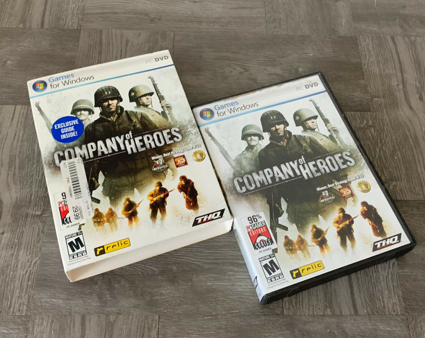 Company Of Heroes Games For Windows Pc Dvd 18 W Sleeve For Sale Online
