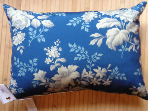 Pottery Barn Outdoor Julene Blue Floral 14 Quot X 20 Quot Pillow