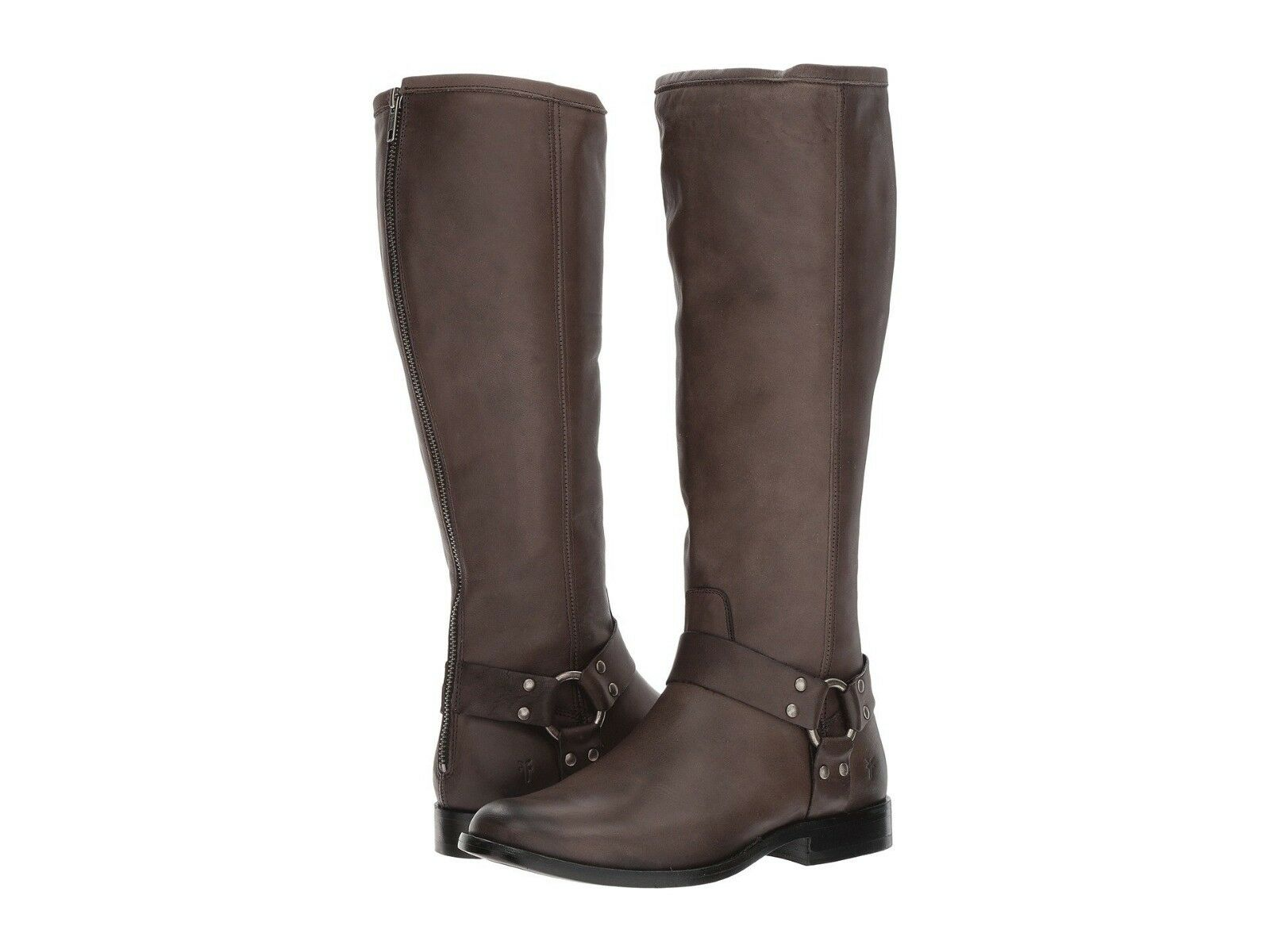 NEW Frye PHILLIP HARNESS Tall Leather Riding Boots Brown 7.5  378
