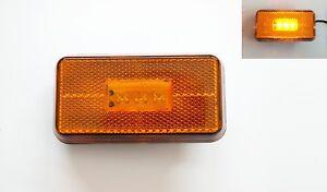 2-Ambar-LED-Peldano-Luces-de-marcaje-Para-Scania-T-SERIE-5-P230-P490-039-04-gt