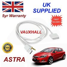 Vauxhall Astra Serie para Apple iPhone 3GS 4 4S iPod, Audio Cable Y Cargador WT