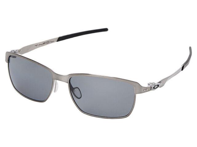d49af9d2841 Oakley Oo4083 Tinfoil Brushed Chrome Polarised Sunglasses for sale ...