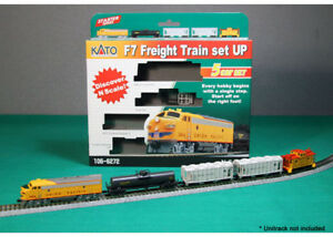 NEW-Kato-N-Train-Set-F7-Freight-UP-106-6272