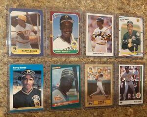 8-Barry-Bonds-1986-1987-Donruss-Fleer-Topps-Rookie-Card-Lot-RC-1989-Upper-Leaf
