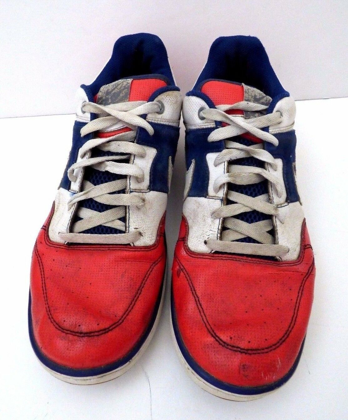 Rare Nike Air Zoom Skater Shoes US  Red White Blue / Style 383433-991 US Shoes 14 36a784