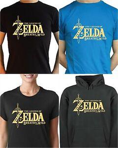 The And Zelda Wild Of Legend T Hoodie Breath Shirt b7Yfgv6y
