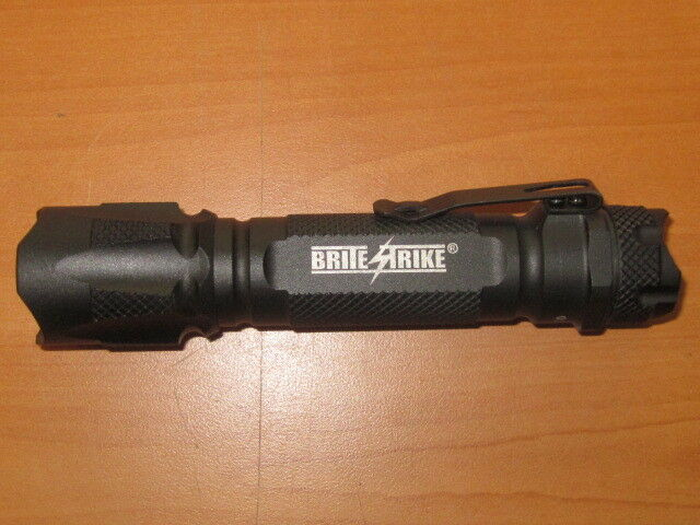 BriteStrike BD-198-HLS Tactical LED Flashlight MINT CONDITION