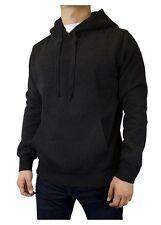 Men's Classic Pull Over Hoodie Plain Hooded Sweatshirt