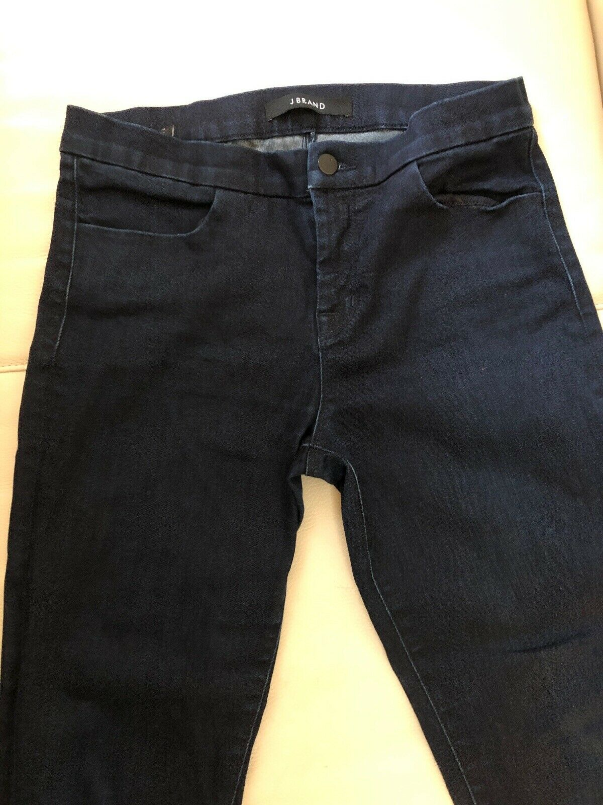 J BRAND Tailored Crop Jeans Inkwell Dark Wash Denim Sz 28  188