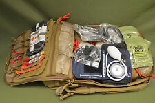 TSSI TACTICAL M-9 TACOPS M9 Medic Medical Assault Backpack !STOCKED! Kit Coyote