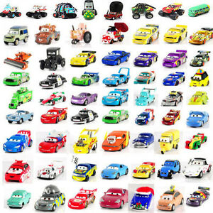 Disney-Pixar-Diecast-Metal-Cars-Sally-King-Red-The-Queen-Studs-McGridle-1-55-Toy
