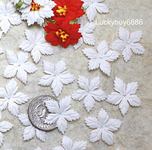 100 white mulberry paper christmas poinsettias flower scrapbook image is loading 100 white mulberry paper christmas poinsettias flower scrapbook mightylinksfo
