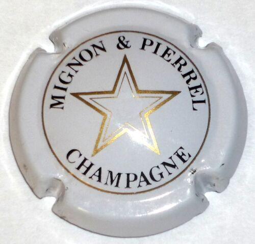 Capsule de Champagne : Très rare !! blanc MIGNON et PIERREL n° 9