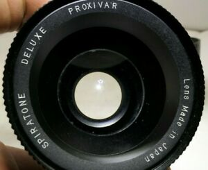 52mm-Spiratone-Deluxe-Macro-Proxivar-vintage-AS-IS-with-fungus-needs-cleaning