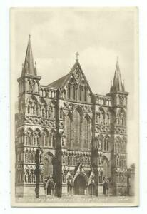 Wiltshire Salisbury Cathedral West Front Frith's Series Postcard c.1950's