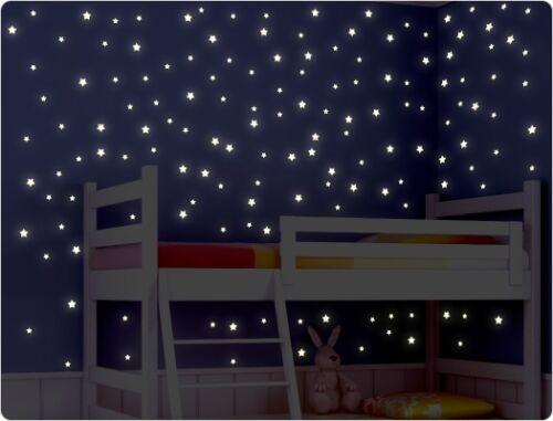 """Wandtattoo Leuchtaufkleber 11632 /""""Sterne/"""" Leuchtsticker Leuchtfolie"""