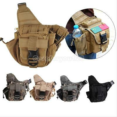 Military Outdoor Tactical Backpack Camping Travel Hiking Trekking Shoulder Bag