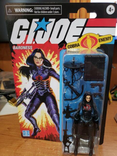 Hasbro Retro Baroness gi joe walmart exclusive