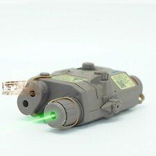 DE PEQ 15 LA-5 Dummy Battery Case Model & Green laser F548