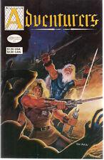 ADVENTURERS lot of (7) issues #1 #4 #5 #6 #7 #8 #10 (1986) Adventure Comics FINE