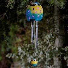 Blue Crystal Windchime Horrus Chimes Flamboya Smart Garden Approx H 34cm …