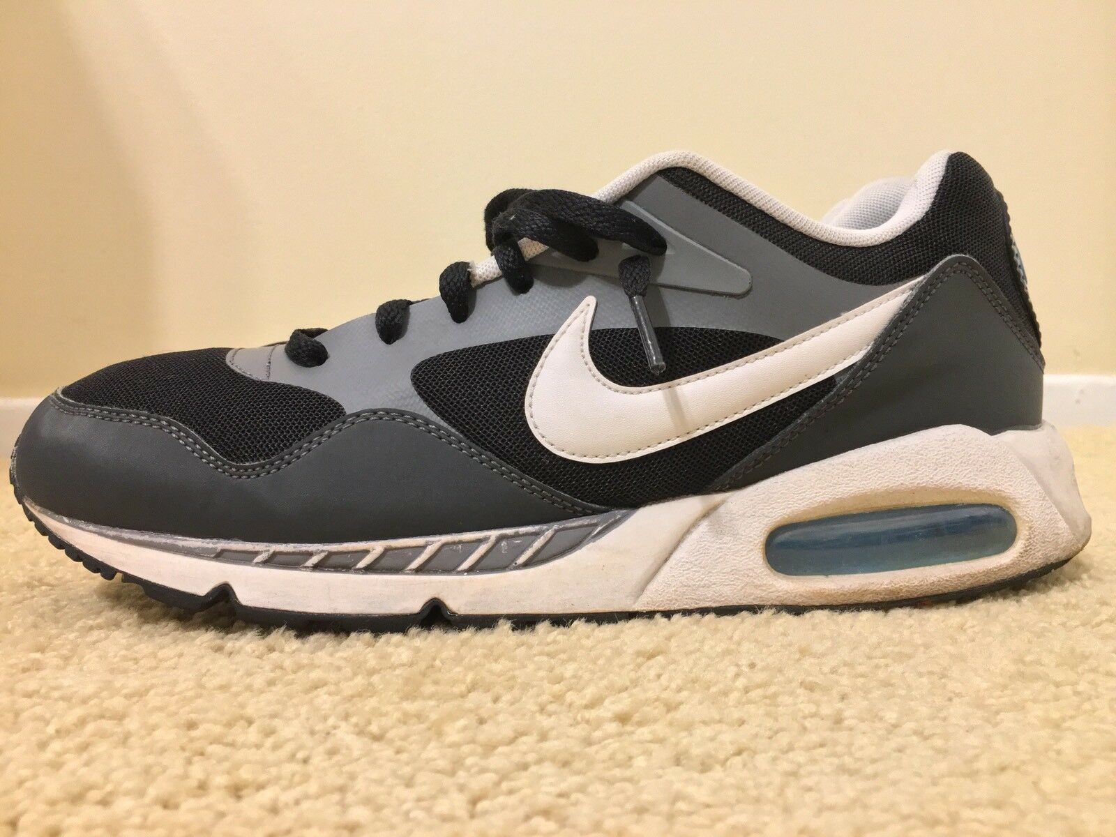 Nike Air Max Correlate, 525243-010, Black White, Mens Running Shoes, Size 10