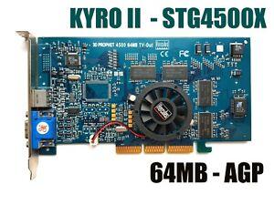 AGP vintage videocard HERCULES KYRO II 3D prophet 4500 TV-OUT 64MB - 2001 year