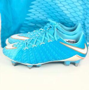finest selection 41464 0606f Details about Nike Hypervenom Phantom 3 SG-PRO Womens Size 8 Soccer Cleats  Blue 881550-415