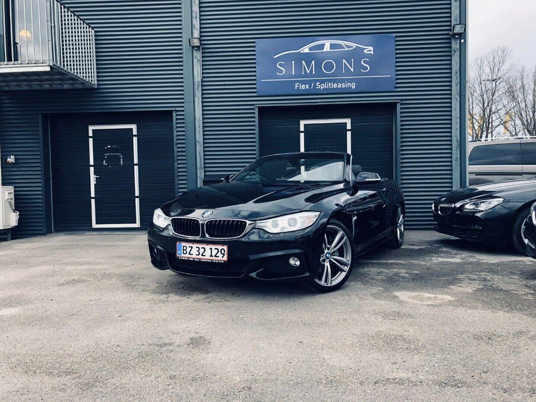 BMW 435d 3,0 Cabriolet xDrive aut. 2d - 4.250 kr.