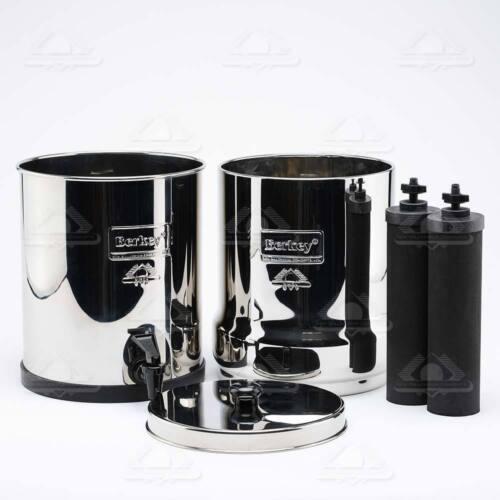 2 Noir Berkey Filtre à eau de remplacement BB9-2 Big Voyage Royal Imperial Crown